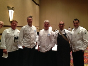 Final shot with the judges and competition MC.
