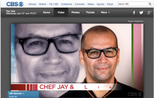 CBS The Talk Introduces Chef Jay Perry